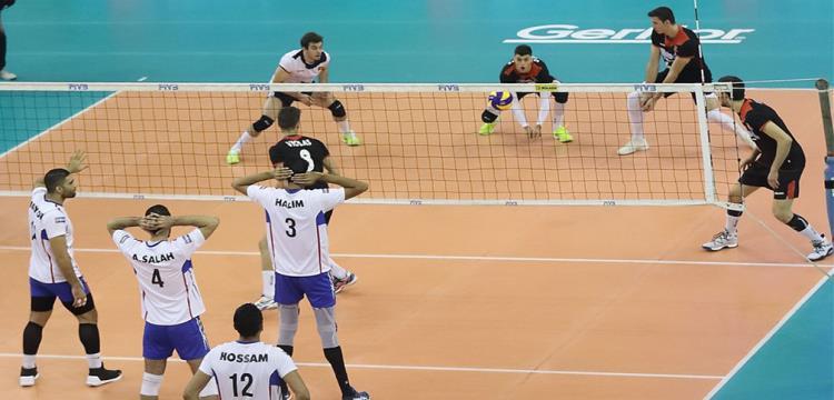 من مباراة مصر والبرتغال