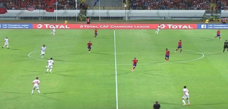 جانب من مباراة الوداد والأهلي بدوري أبطال إفريقيا