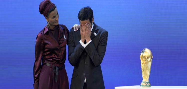 لحظة فوز قطر بتنظيم مونديال 2022