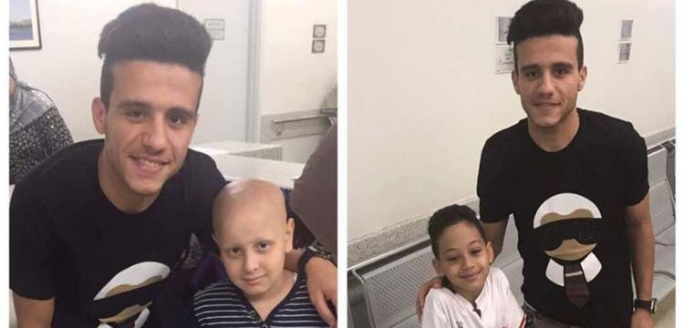 مصطفى فتحي في زيارة لمستشفى 57357