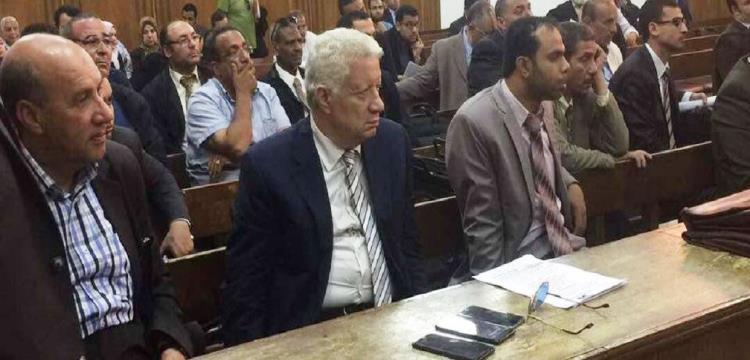 مرتضى منصور في المحكمة