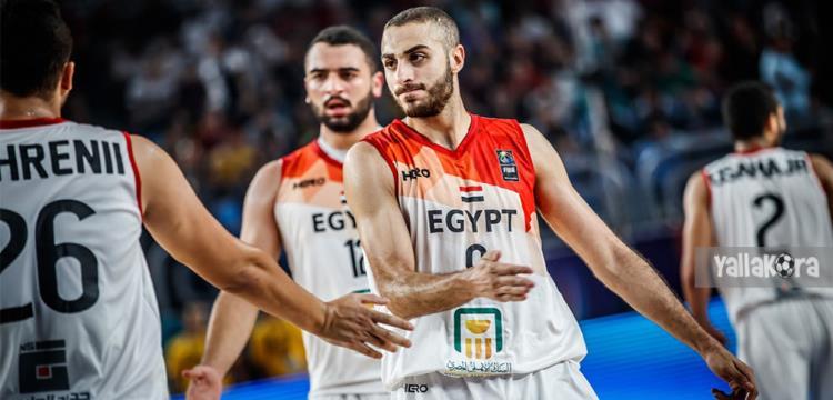 لاعبو منتخب مصر في مواجهة بورتوريكو