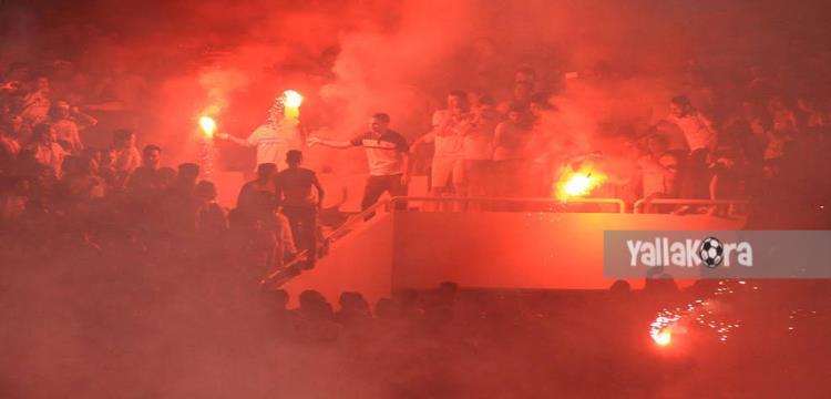 احداث مباراة الزمالك واهلي طرابلس