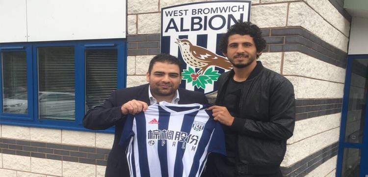 أحمد حجازي بقميص فريقه الجديد