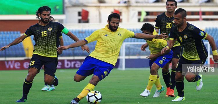 من مباراة النصر السعودي والعهد اللبناني