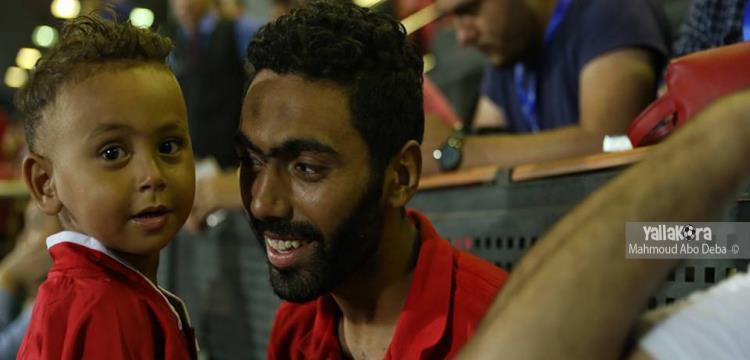 حسين الشحات في مباراة الأهلي