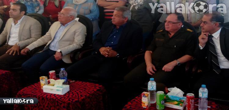 وزير الشباب وقيادات بورسعيد