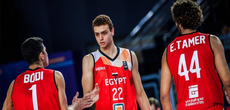 لاعبو منتخب مصر في مواجهة ألمانيا