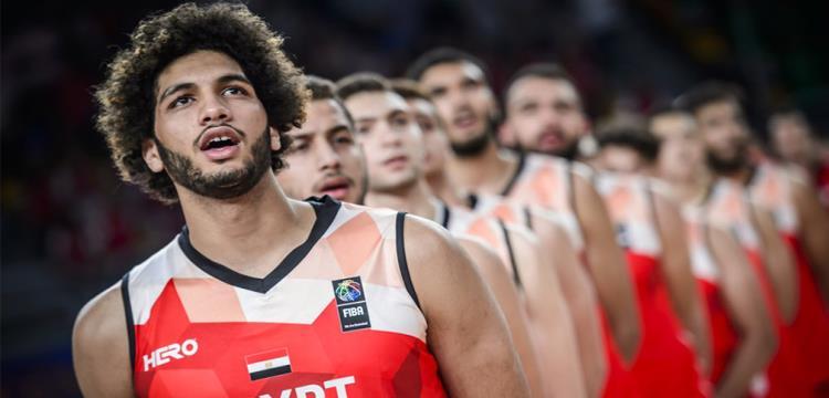 لاعبو منتخب مصر قبل مواجهة الأرجنتين