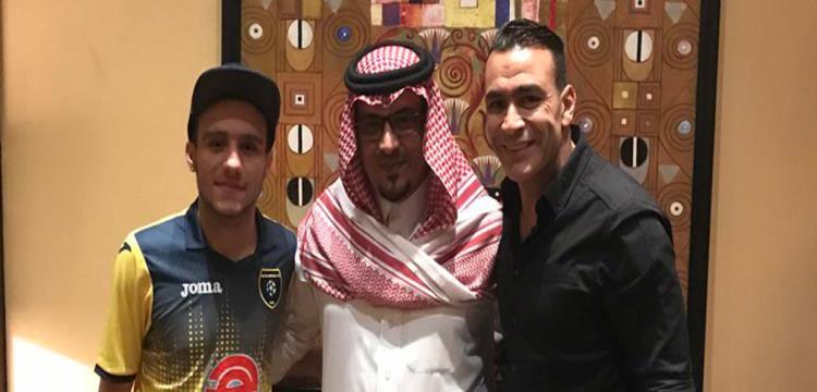 مصطفى فتحي والحضري مع رئيس التعاون