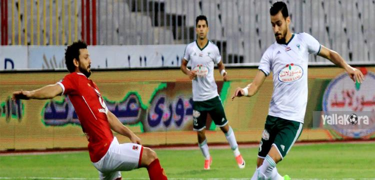 حسام غالي أمام المصري