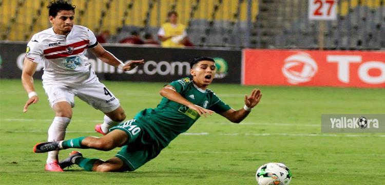 أحمد توفيق لاعب الزمالك - صورة أرشيفية