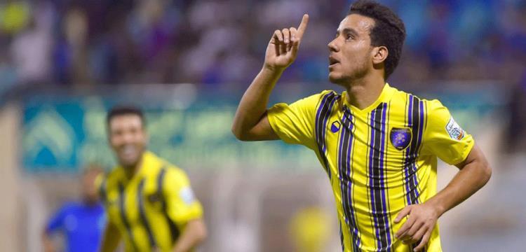 مصطفى فتحي لاعب التعاون السعودي