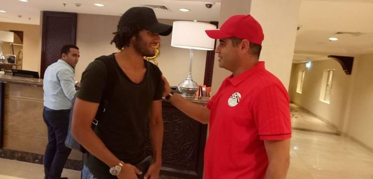 محمد النني يصل معسكر المنتخب