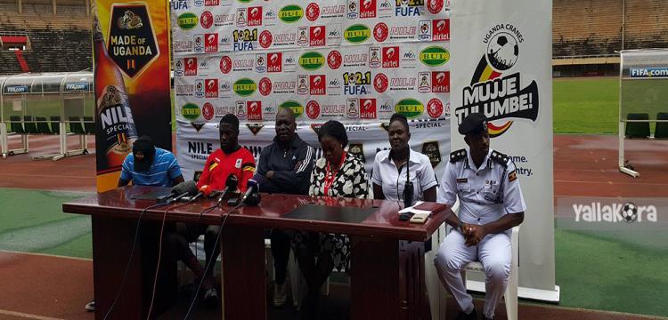 المؤتمر الصحفي لمدرب أوغندا