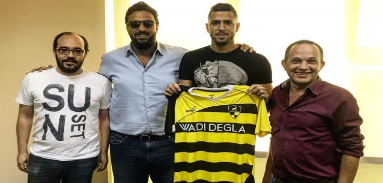 عمرو طارق مع ميدو مدرب وادي دجلة