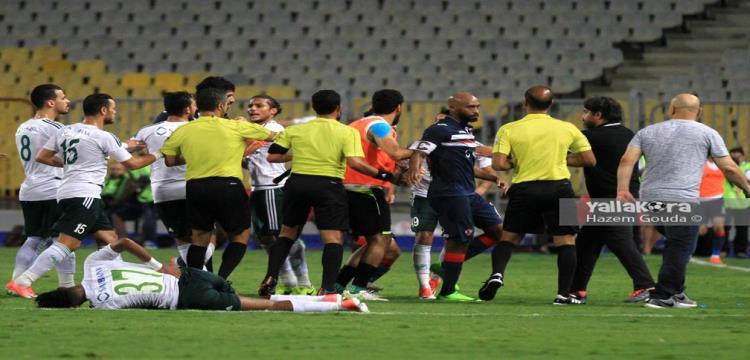 مباراة سابقة للزمالك والمصري