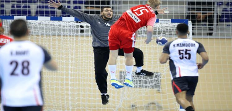 من مباراة مصر والدنمارك بمونديال الناشئين