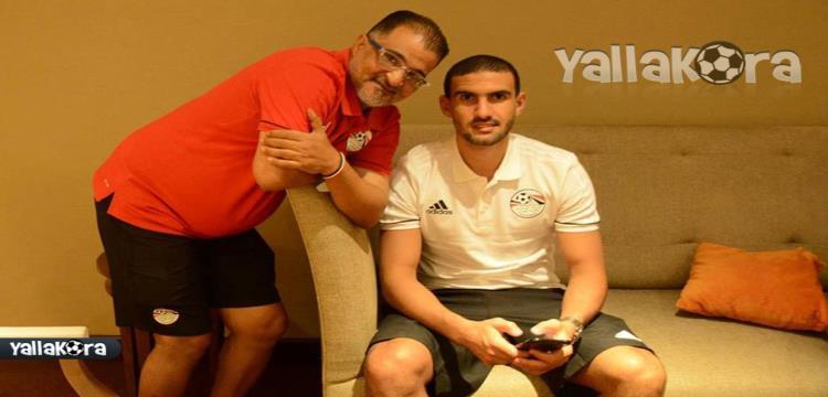 محمد عواد فى المنتخب