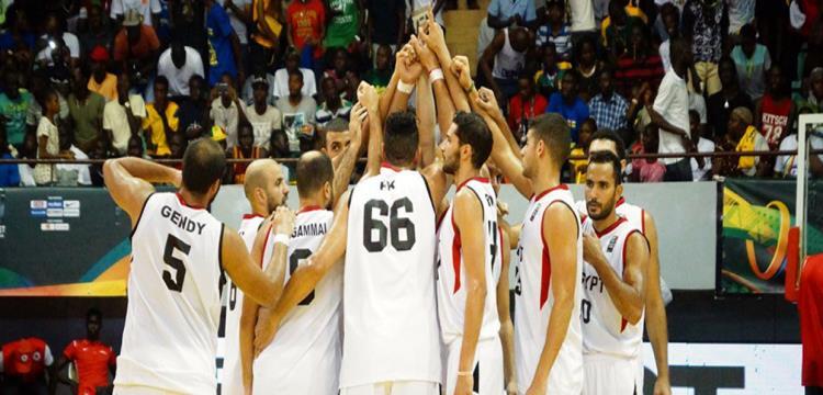 صورة منتخب مصر لكرة السلة