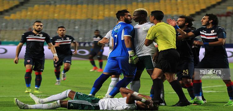 أحمد الشناوي أثناء المباراة