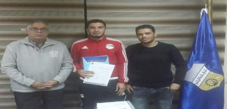 مصطفى الفرماوي لاعب الأهلي