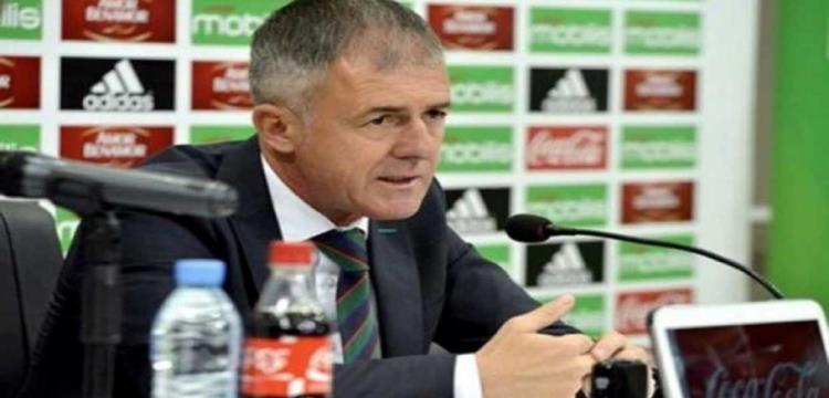 مدرب الجزائر