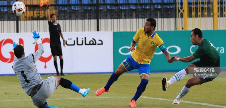عمر جمال لاعب الإسماعيلي