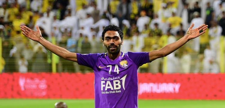 حسين الشحات لاعب العين الإماراتي