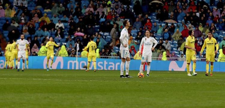 صورة من لقاء فياريال وريال مدريد