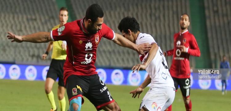 أحمد فتحي لاعب الأهلي