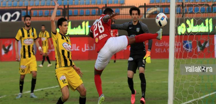 محمد ناجي جدو لاعب المقاولون العرب