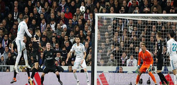 ريال مدريد هزم باريس بثلاثية
