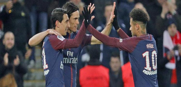 صورة من مباراة باريس سان جيرمان