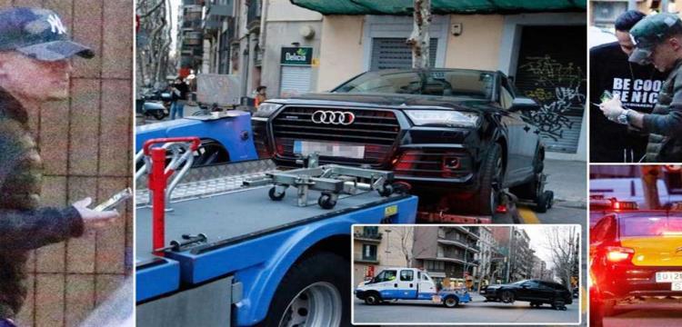 سرقة منزل كوتينيو وسحب سيارته
