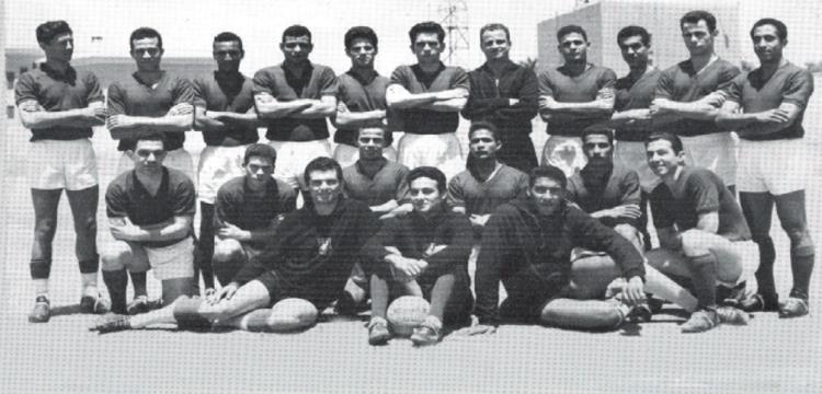جيل الأهلي بطل الدوري المصري عام 1961