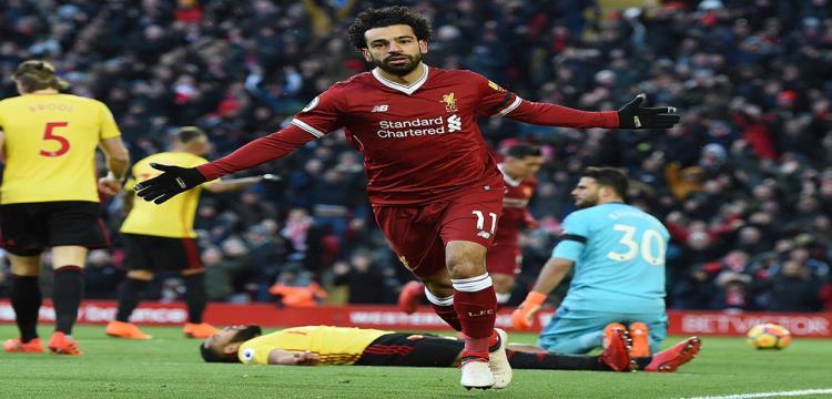 محمد صلاح نجم فريق ليفربول الإنجليزي