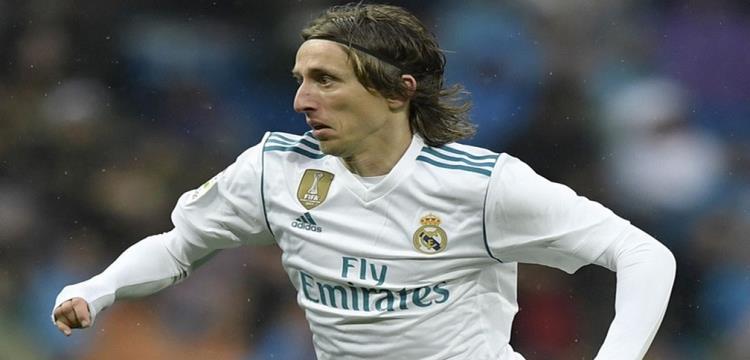مودريتش لاعب ريال مدريد