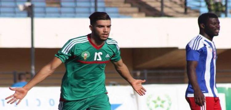 وليد أزارو مهاجم المنتخب المغربي