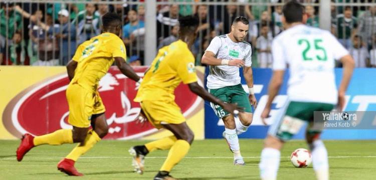 من مباراة المصري ومونانا