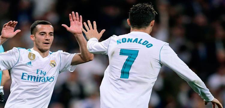 رونالدو احتفال كثيرا في مباريات ريال مدريد الأخيرة