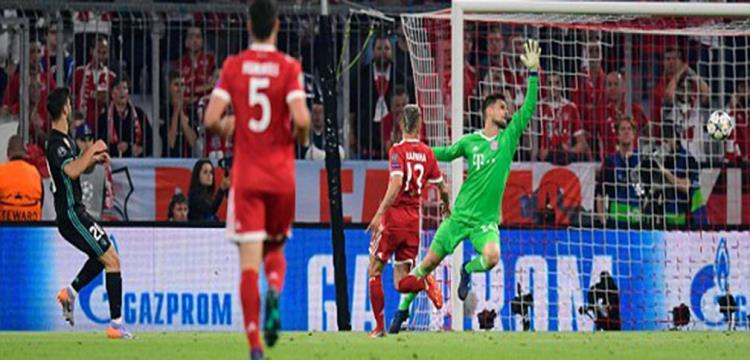 أسينسيو سجل هدف في بايرن