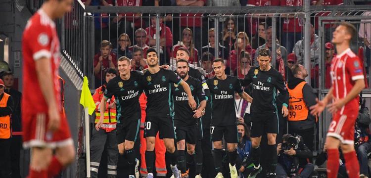 ريال مدريد وبايرن ميونيخ
