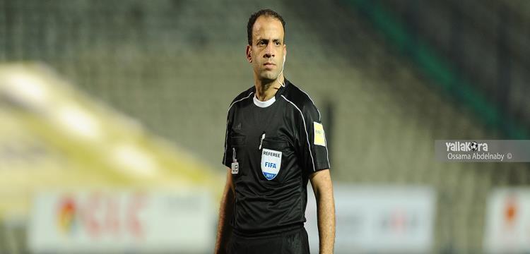 محمد الحنفي حكم مباراة القمة بين الأهلي والزمالك