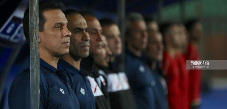 حسام البدري خلال مباراة الترجي