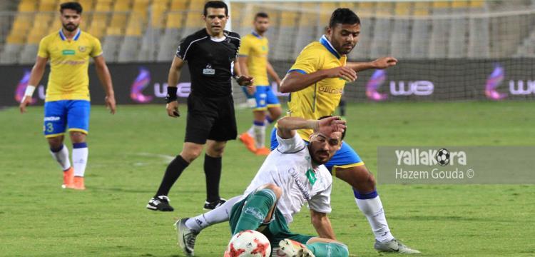 محمود البنا حكم مباراة الإسماعيلي والمصري