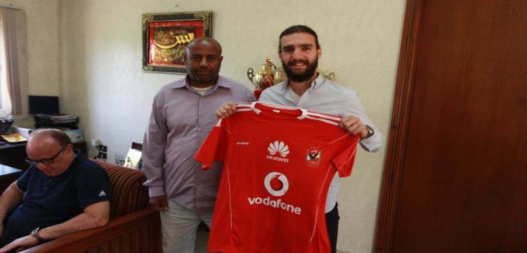 يوسف الجبالي بقميص الأهلي