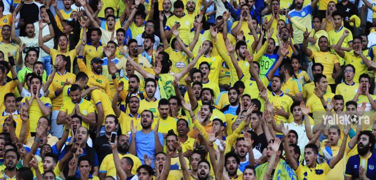 جماهير الإسماعيلي في مباراة الزمالك (تصوير - حازم جودة)