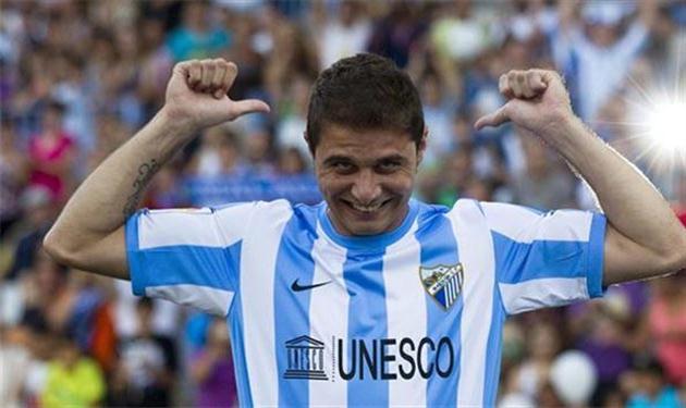 مالاجا يعلن انتقال لاعبه خواكين سانشيز ليزامل حجازي بفيورنتينا