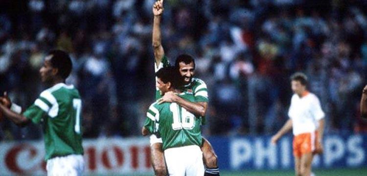 مصر ، هولندا ، 1990 ، كأس العالم 90 ، مجدي عبد الغ